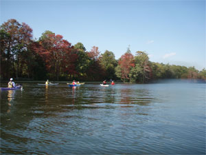 SKSA Fall Foliage tour, Connetquot River
